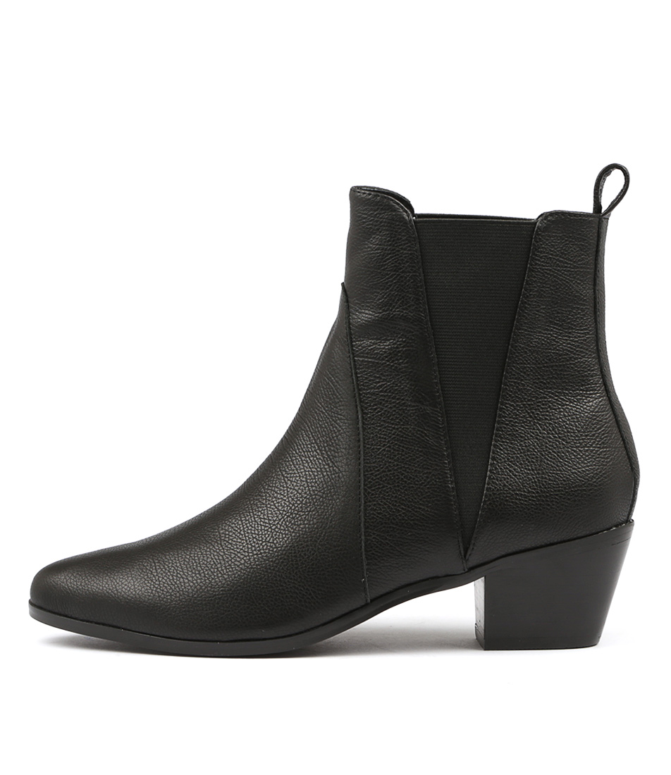 Nude Rooney Nu Black Ankle Boots