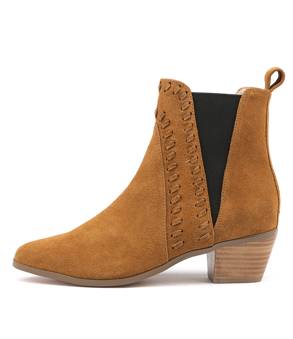 Nude Rooney Nu Tan Ankle Boots