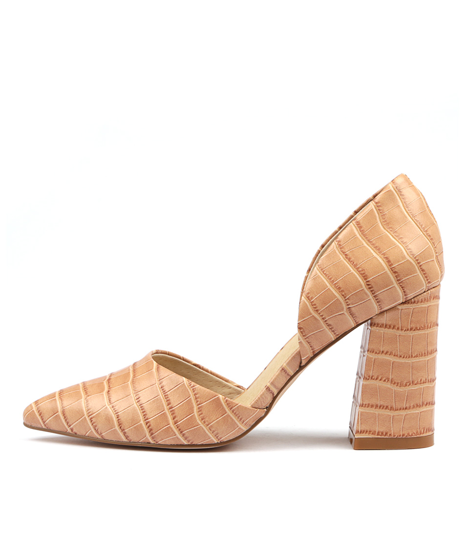Buy Nude Rocco Nu Blush High Heels online with free shipping
