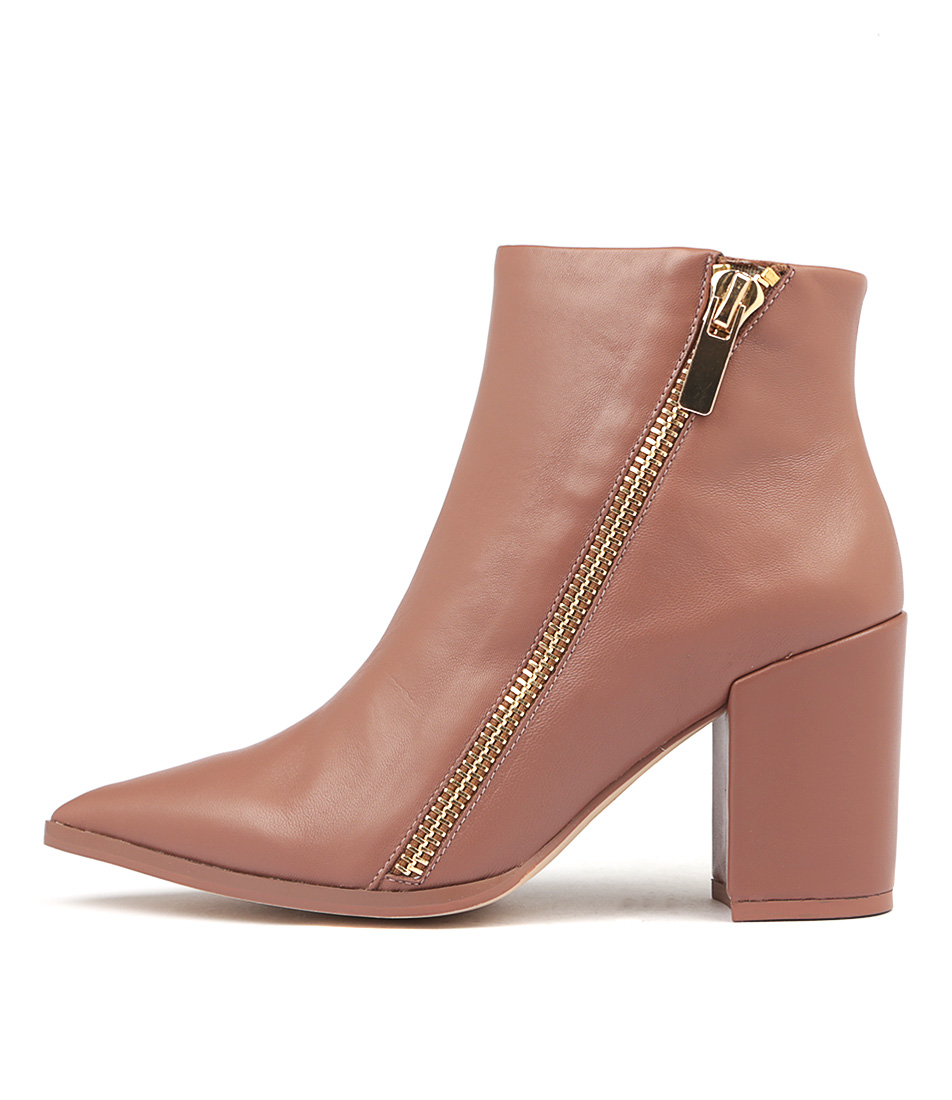 Buy Nude Stevie Nu Cocoa Ankle Boots online with free shipping