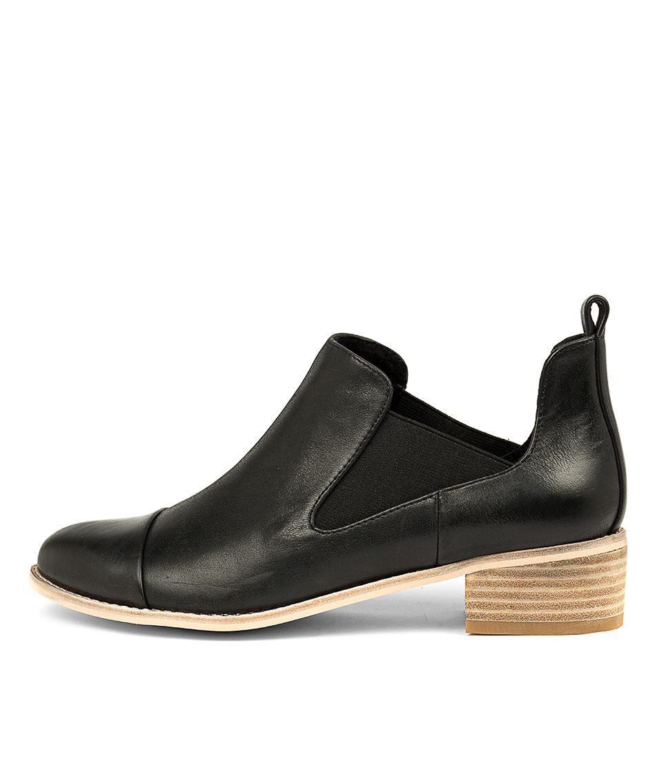 Buy Nude Emerson Nu Black Ankle Boots online with free shipping