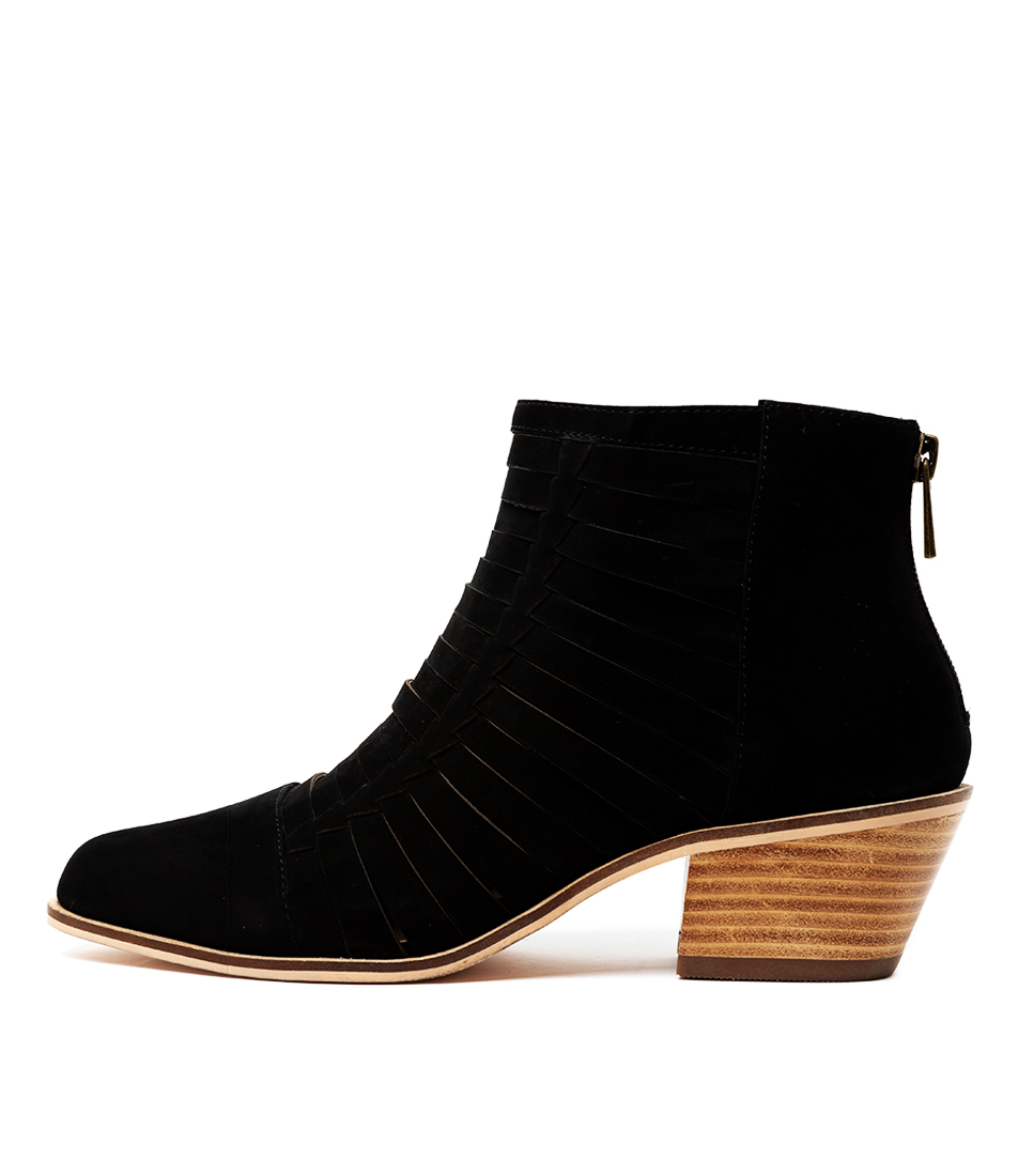 Buy Nude Kygo Nu Black Ankle Boots online with free shipping