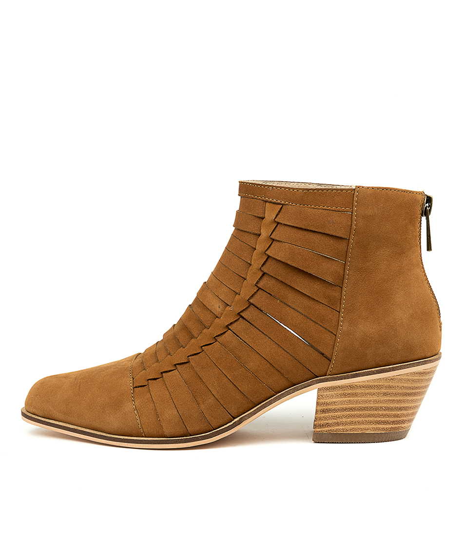 Buy Nude Kygo Nu Tan Ankle Boots online with free shipping