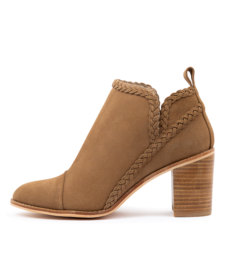 Buy Nude Tayla Nu Natural Ankle Boots online with free shipping