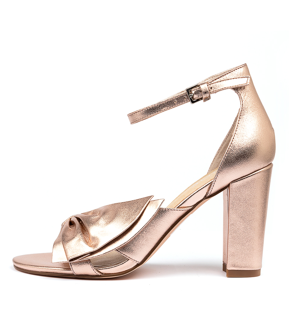 Buy Nude Kiki Nu Rose Gold Heeled Sandals online with free shipping
