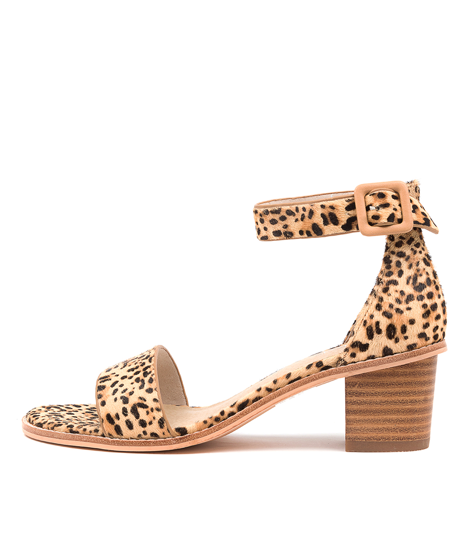 Buy Nude Mickee Nu Leopard Heeled Sandals online with free shipping