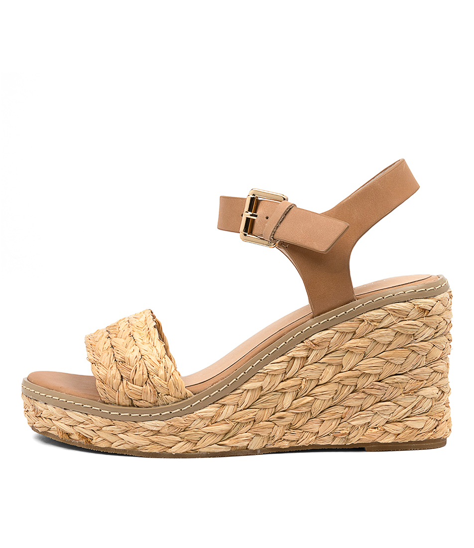 Buy Nude Kimbra Nu Tan Resort Heeled Sandals online with free shipping
