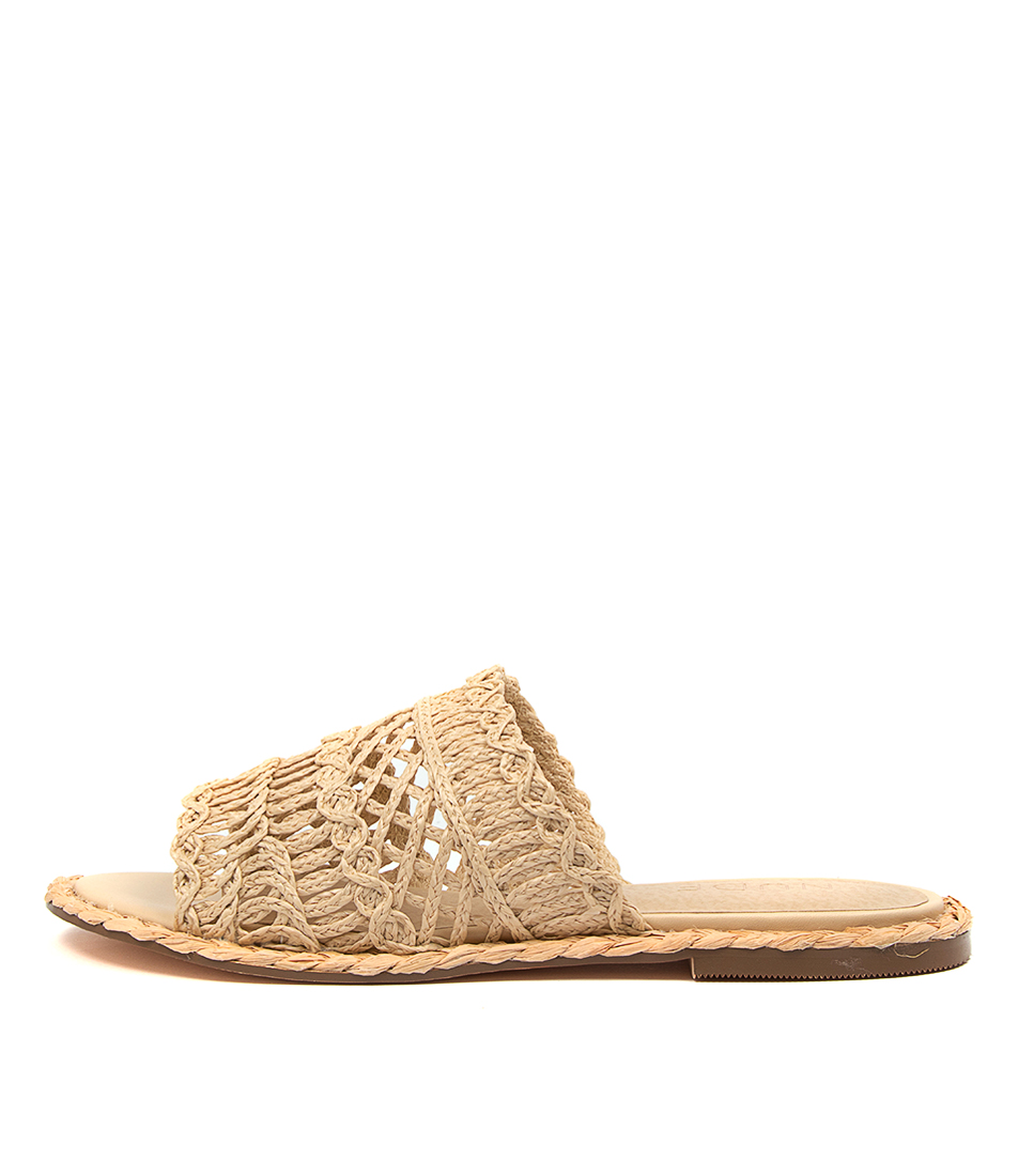 Buy Nude Lia Nu Natural Flats online with free shipping