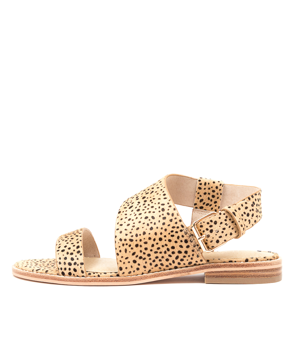Buy Nude Cyrus Nu Mini Blush Spot Flat Sandals online with free shipping
