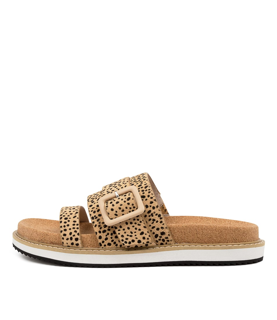 Buy Nude Ollie Nu Mini Blush Spot Flat Sandals online with free shipping