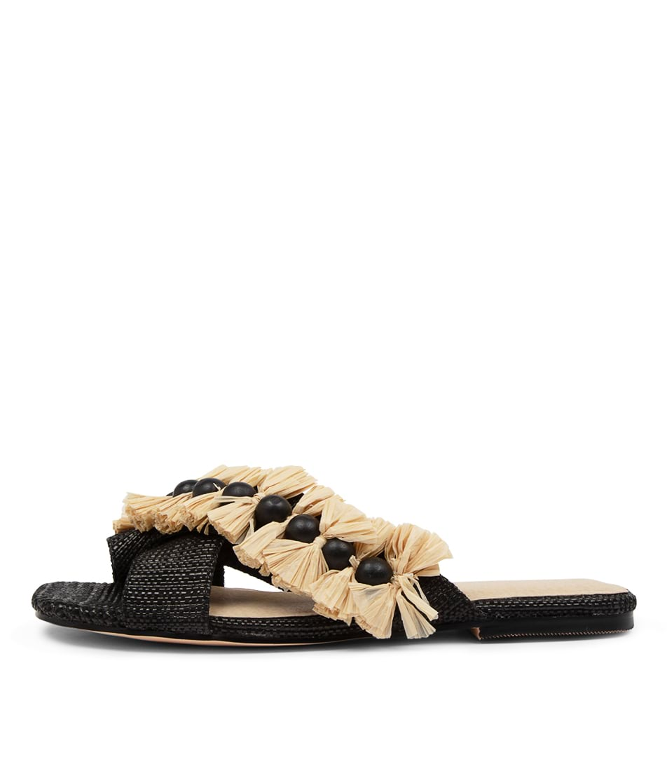 Buy Nude Zula Nu Black Sandals online with free shipping