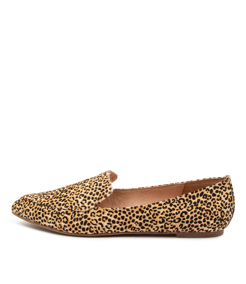 Buy Nude Marco Nu Leopard Flats online with free shipping
