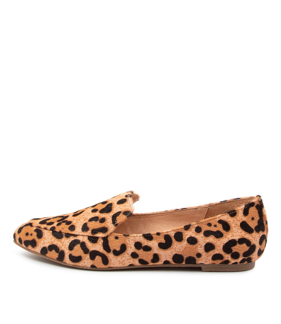 Buy Nude Marco Nu Blush Leopard Flats online with free shipping