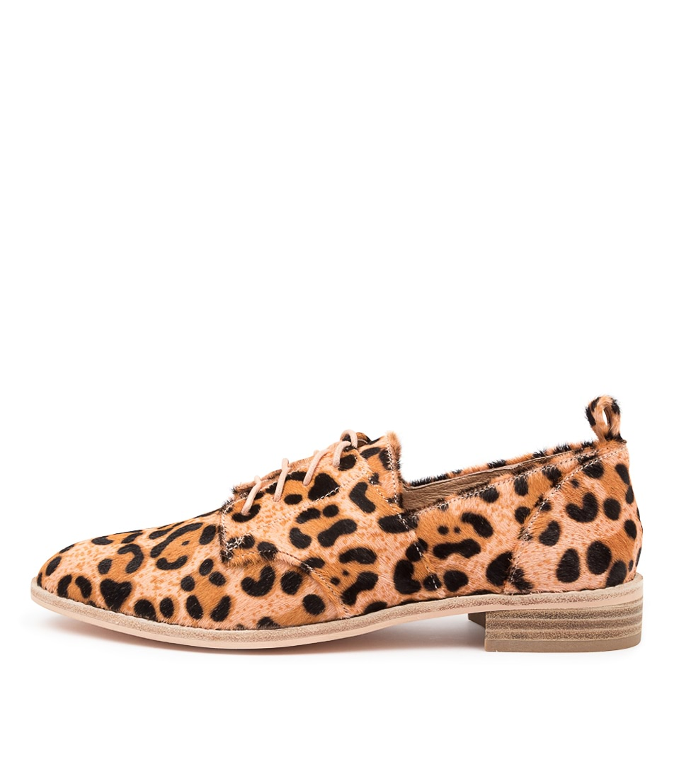 Buy Nude Marley Nu Blush Leopard Flats online with free shipping