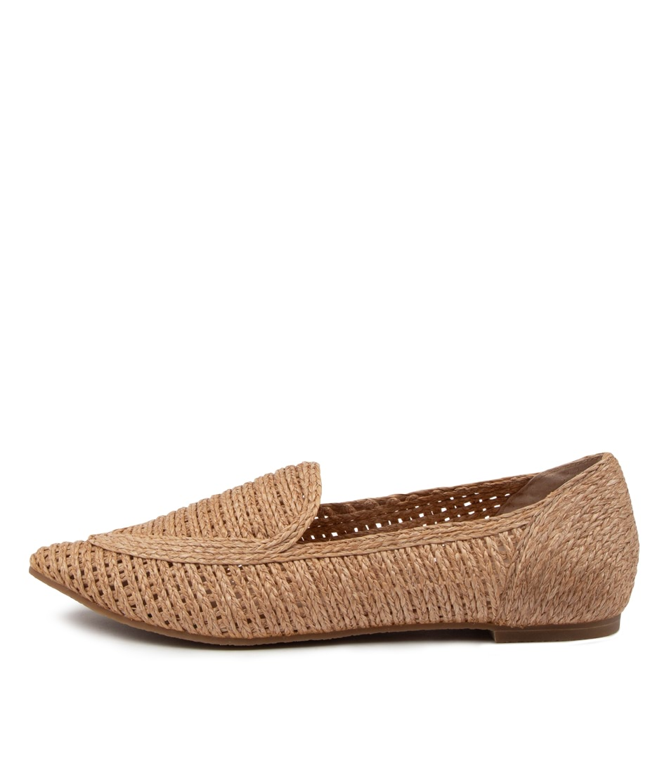 Buy Nude Lulu Nu Natural Flats online with free shipping