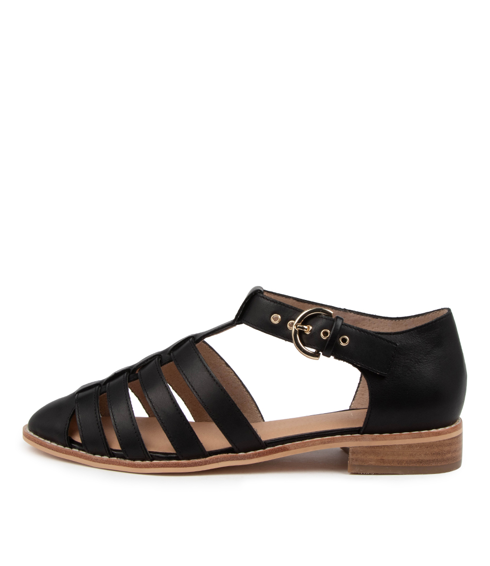 Buy Nude Lucie Nu Black Flats online with free shipping