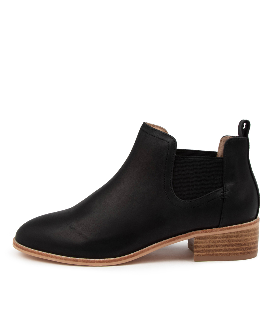 Buy Nude Rumer Nu Black Ankle Boots online with free shipping