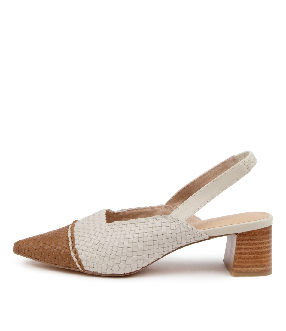 Buy Nude Claire Nu Cream Tan High Heels online with free shipping