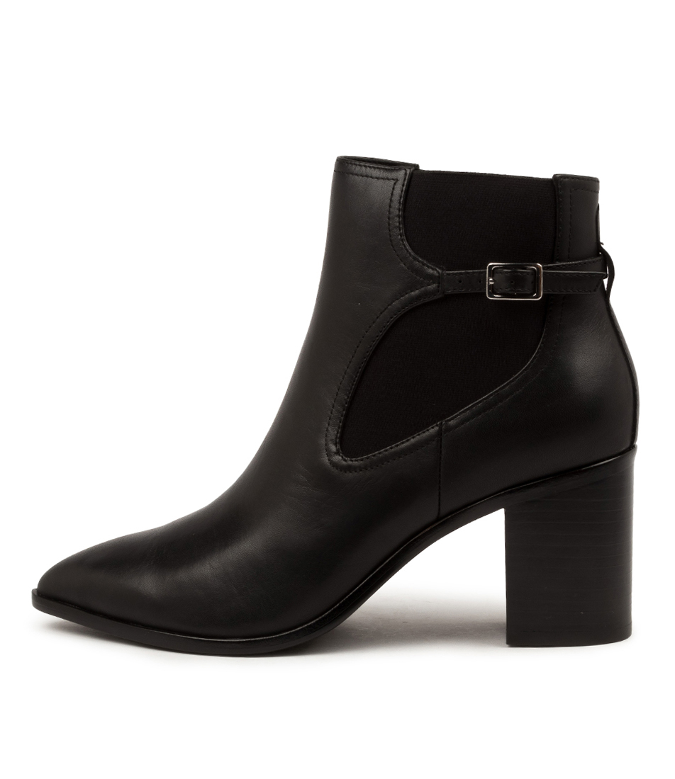 Buy Nude Klara Nu Black Ankle Boots online with free shipping