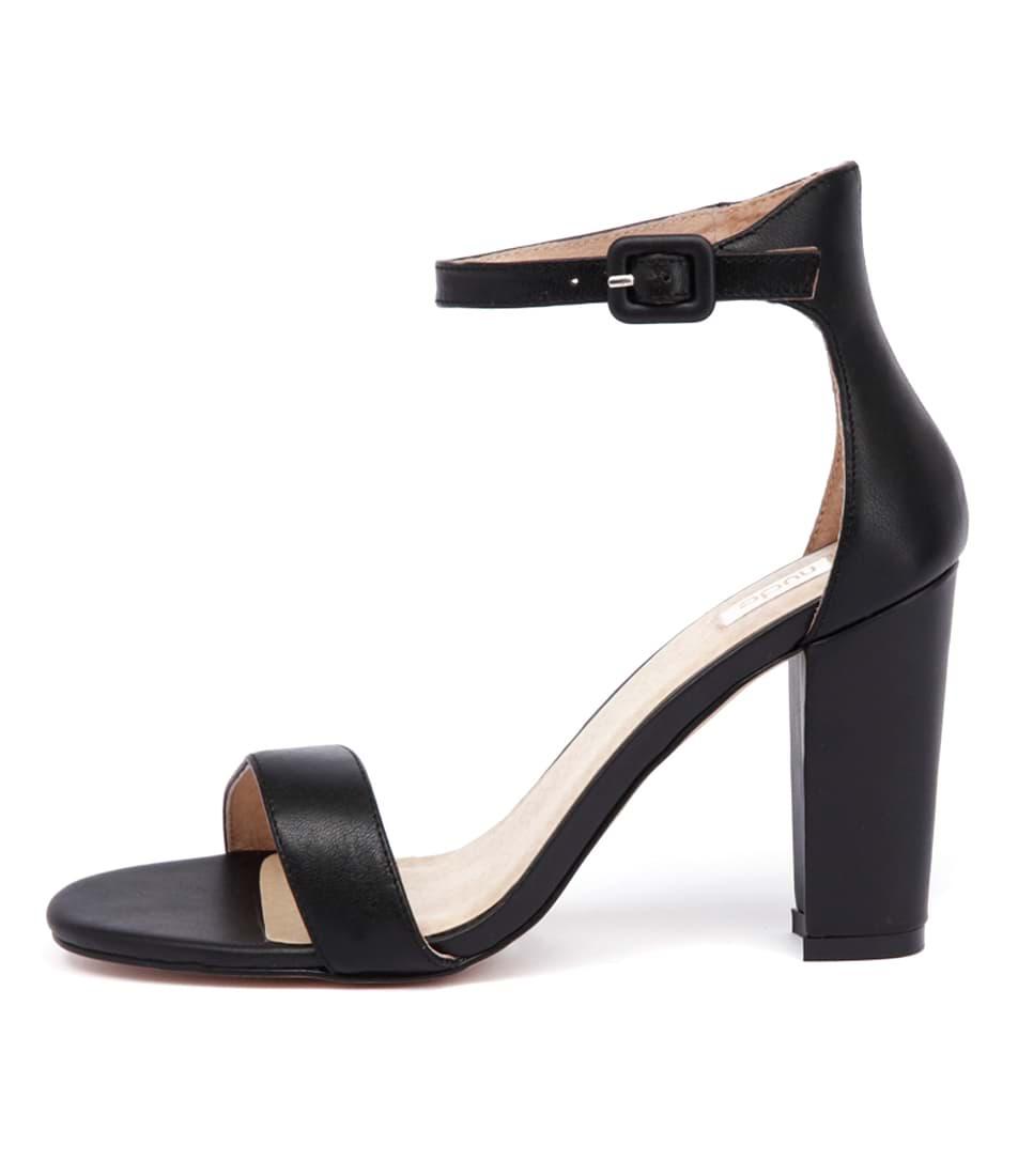 Nude Dakota Nu Black Heeled Sandals