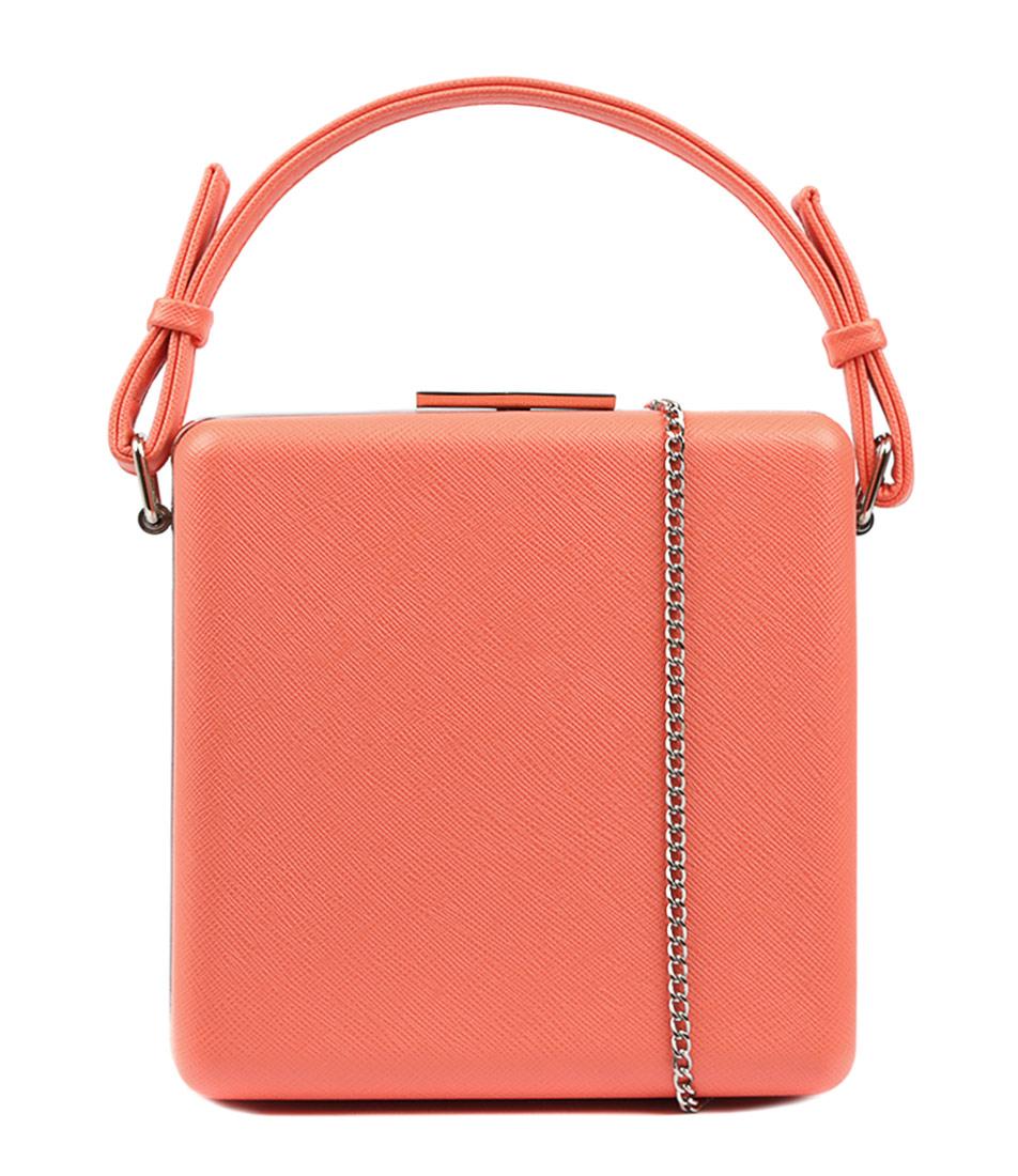 Olga Berg Ashley Coral Bags Womens Shoes Dress Clutch Bags