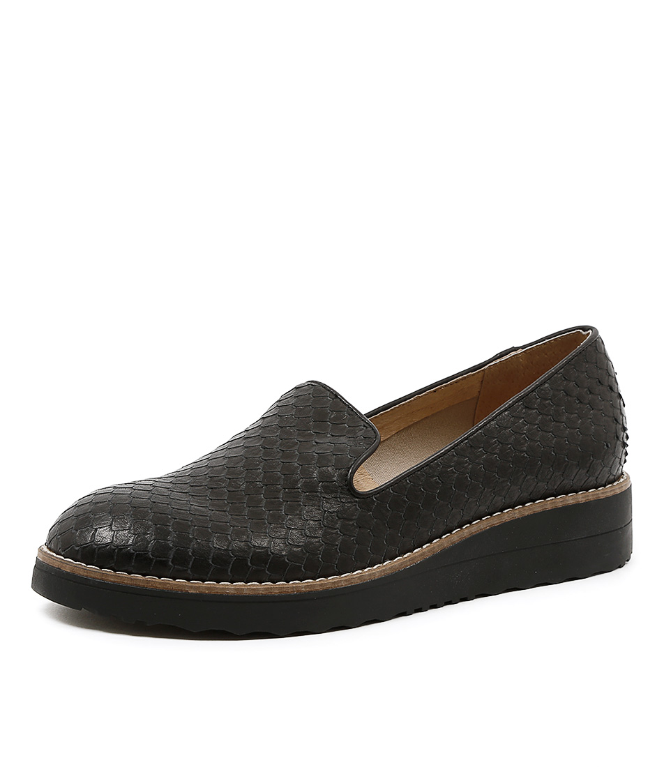 New Top End Olus Black Womens Shoes Casual Shoes Flat