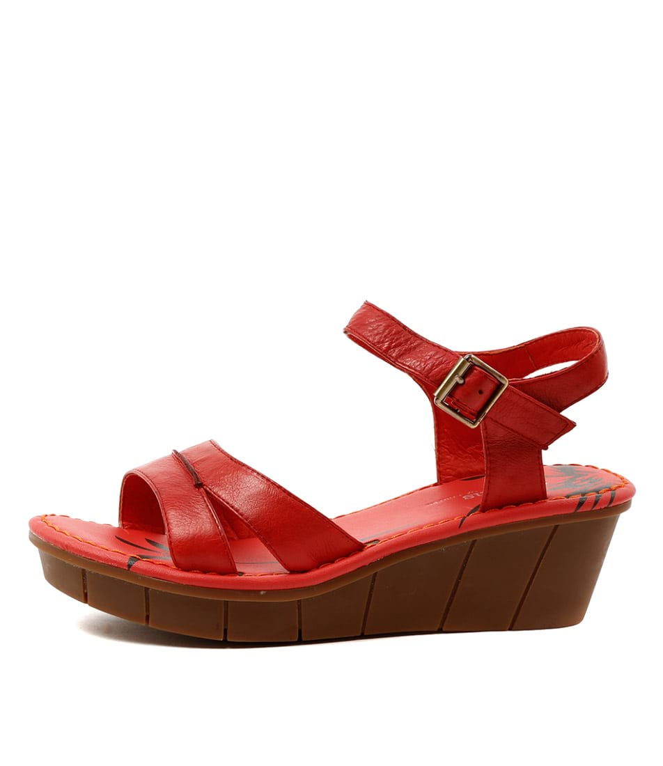 Gamins Onzess Red Sandals