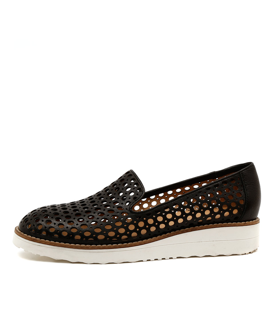 Buy Top End Osta Black Flats online with free shipping