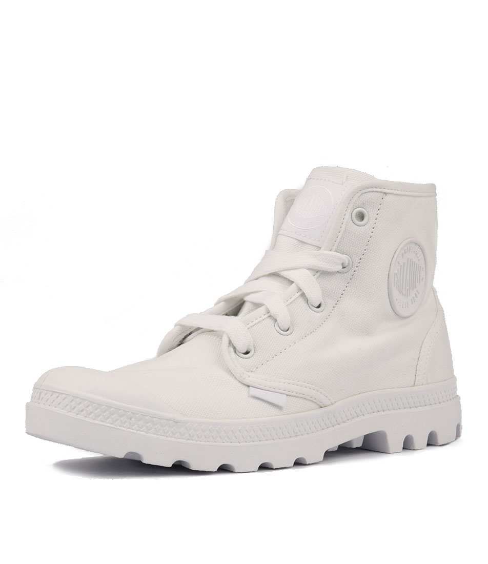 Palladium Pampa Hi W White White Casual Ankle Boots