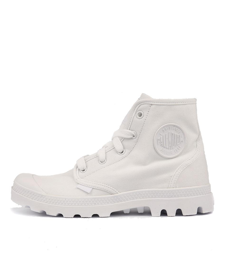Palladium Pampa Hi W White White Ankle Boots