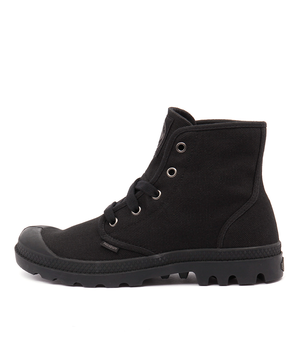 Palladium Pampa Hi W Black Ankle Boots