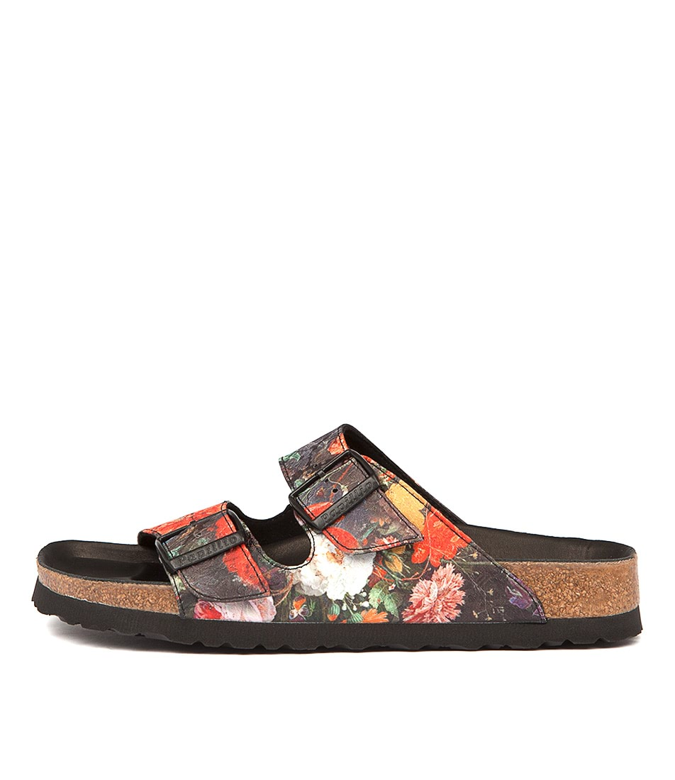 Papillio By Birkenstock Arizona Floral Bouquet Sandals