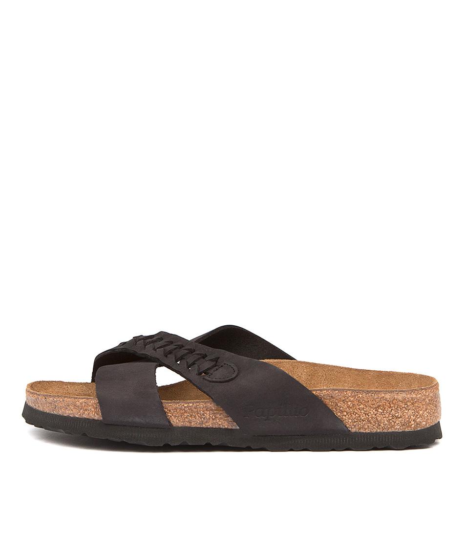 Papillio By Birkenstock Daytona Pb Woven Black Sandals