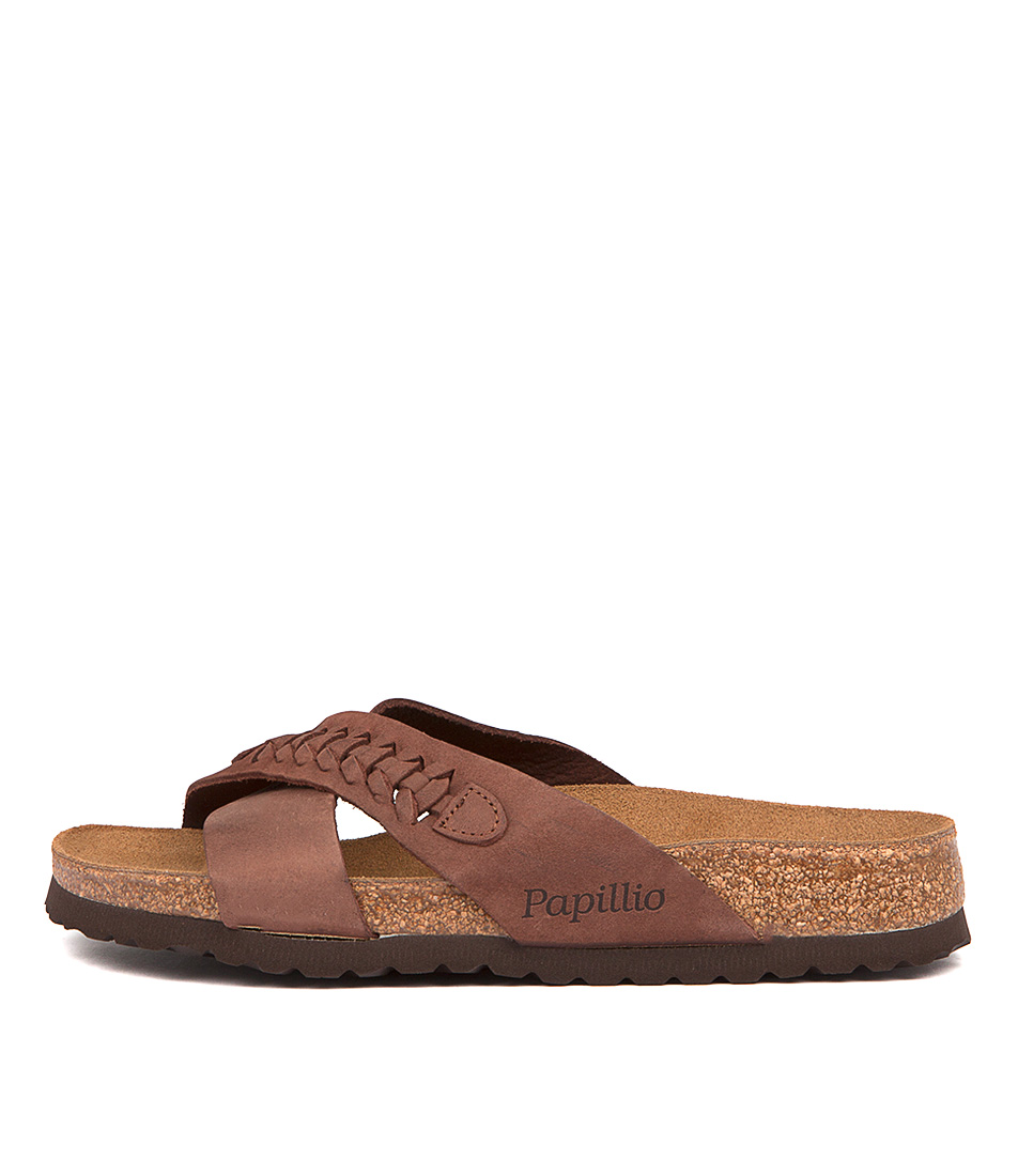 Papillio By Birkenstock Daytona Pb Woven Brown Sandals