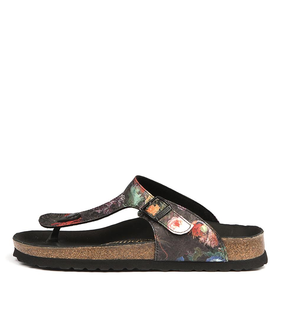Papillio By Birkenstock Gizeh Floral Bouquet Sandals