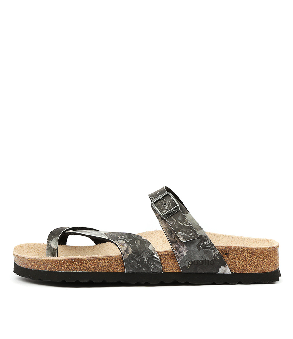 Buy Papillio By Birkenstock Tabora Crystal Black Flat Sandals online with free shipping