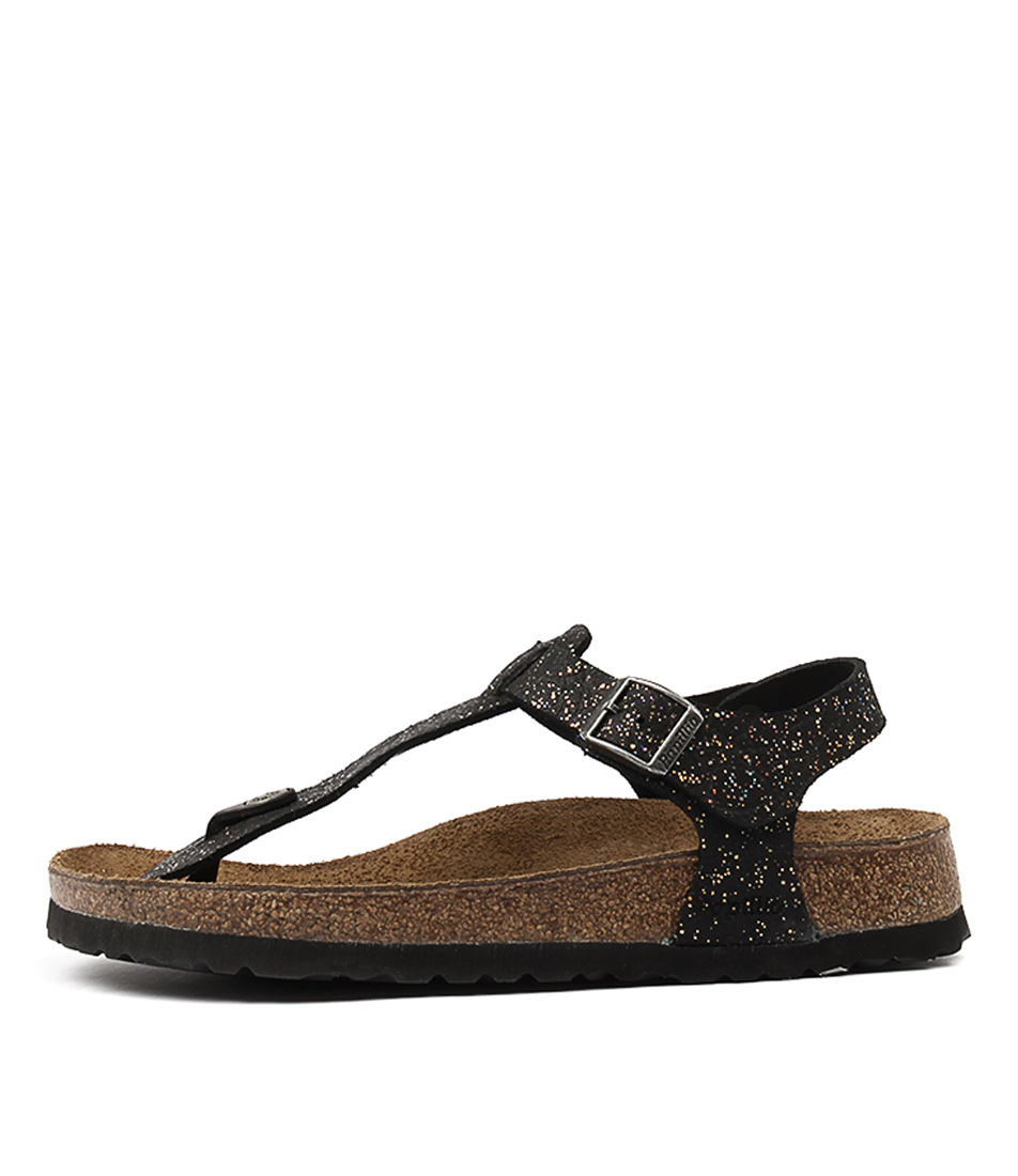 Papillio By Birkenstock Kairo Eva Grace Black Sandals