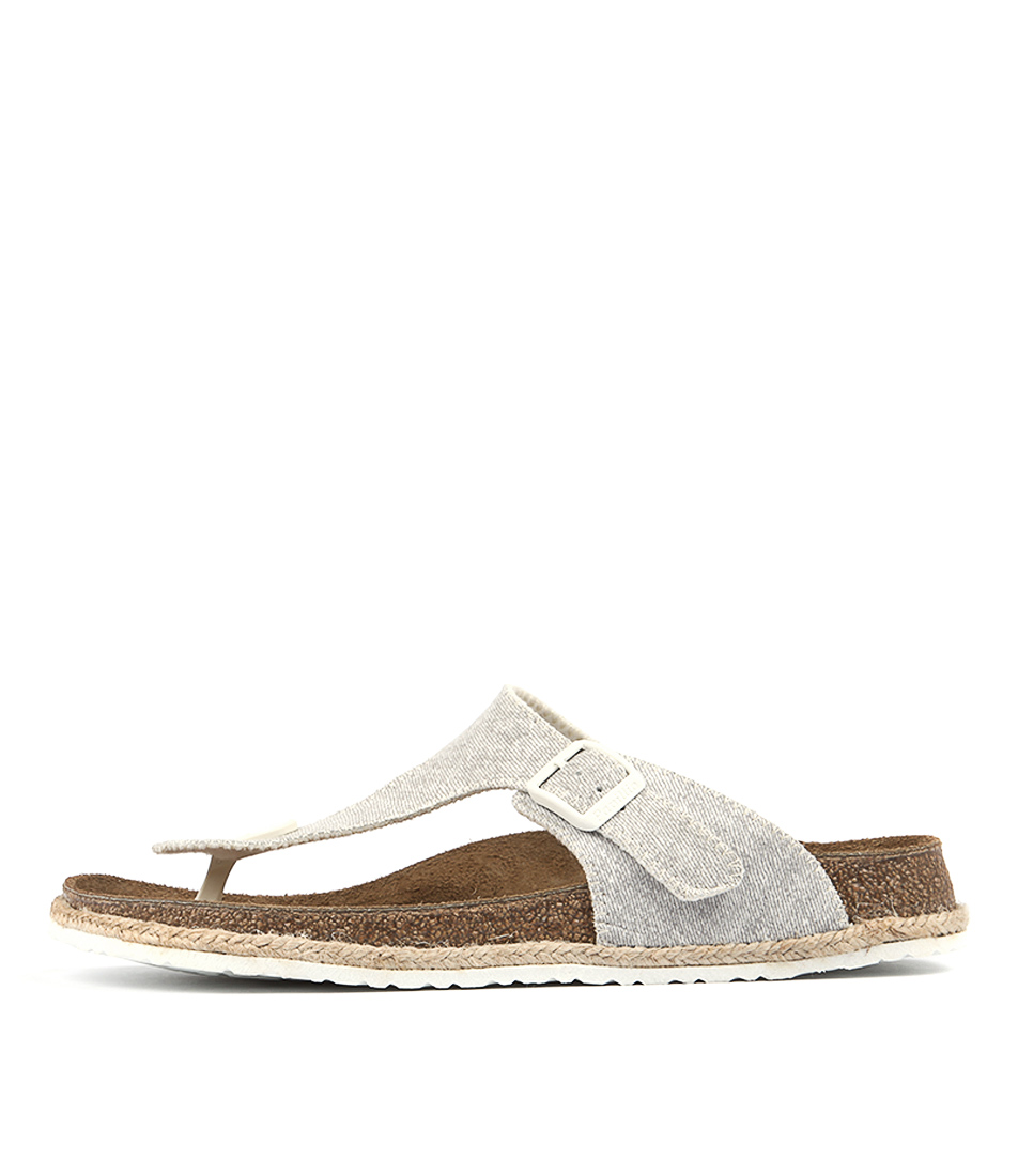 Papillio By Birkenstock Gizeh Bf Beach Grey Sandals
