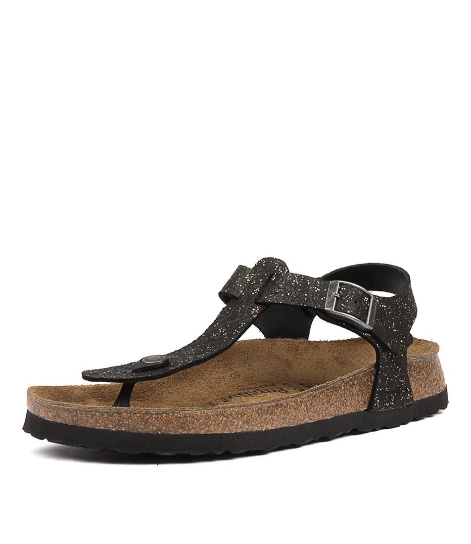 Papillio By Birkenstock Kairo Nl Grace Black Sandals