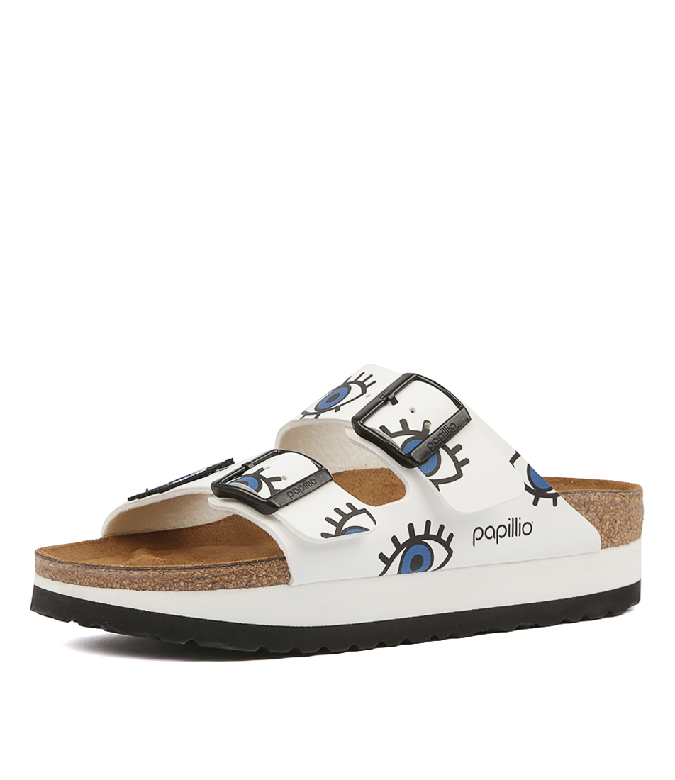 38396c9ee36 New Papillio By Birkenstock Arizona Platform Womens Shoes Casual ...