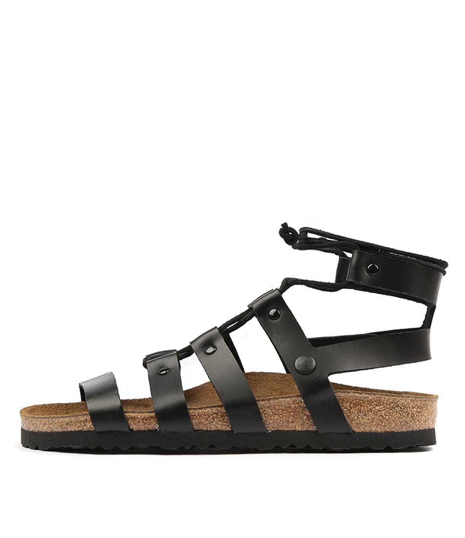 Buy Papillio By Birkenstock Cleo Pb Black Flat Sandals online with free shipping