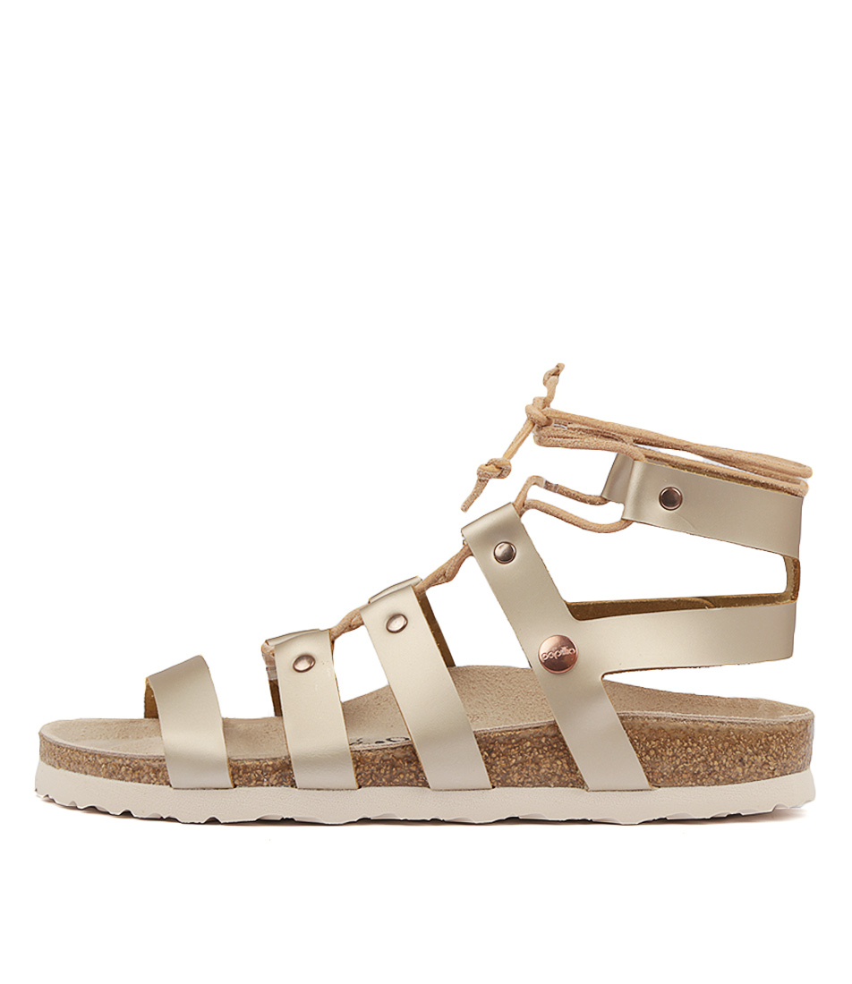 Buy Papillio By Birkenstock Cleo Pb Frosted Met Ros Flat Sandals online with free shipping