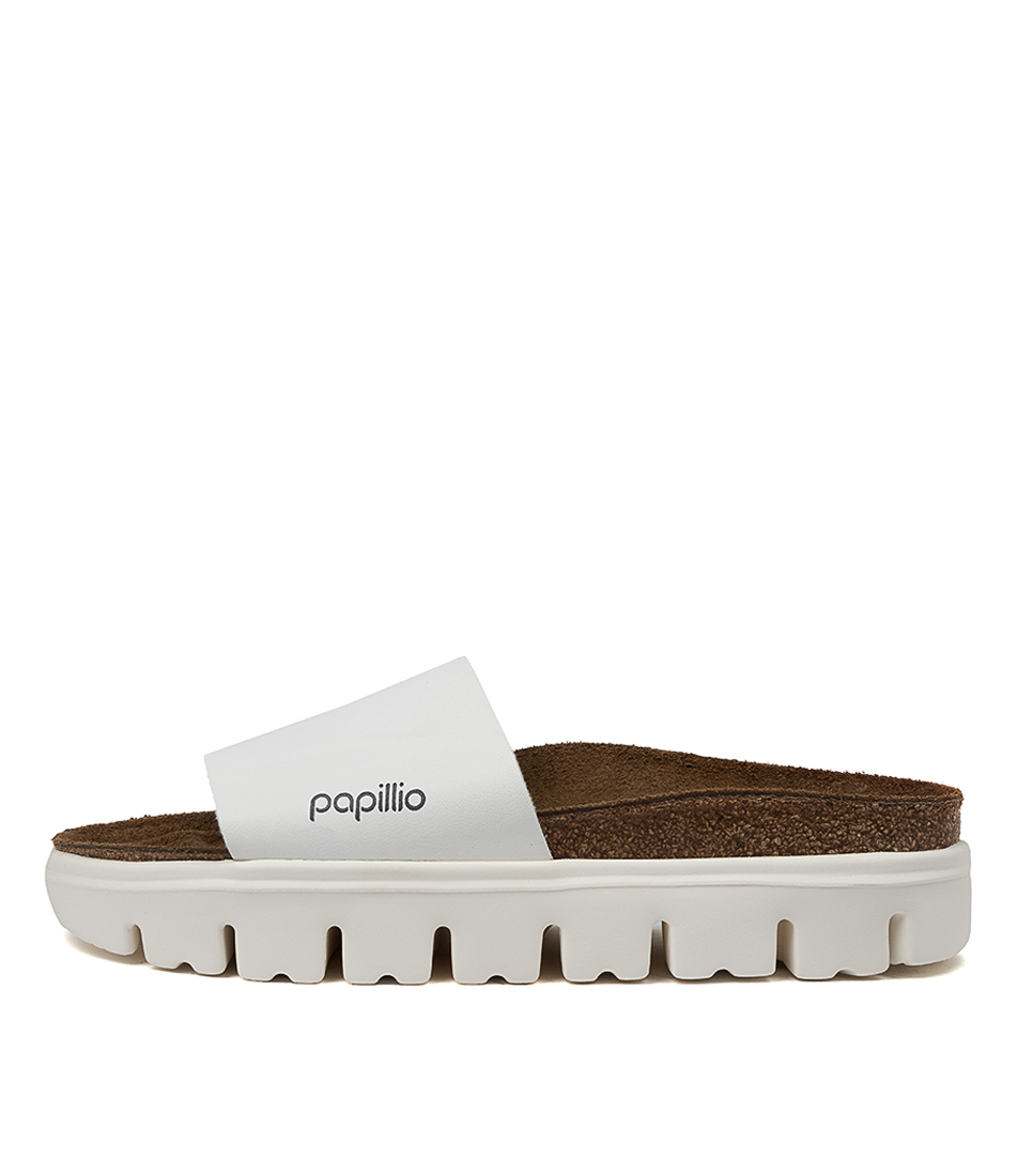 Buy Papillio By Birkenstock Cora Pb White Flat Sandals online with free shipping