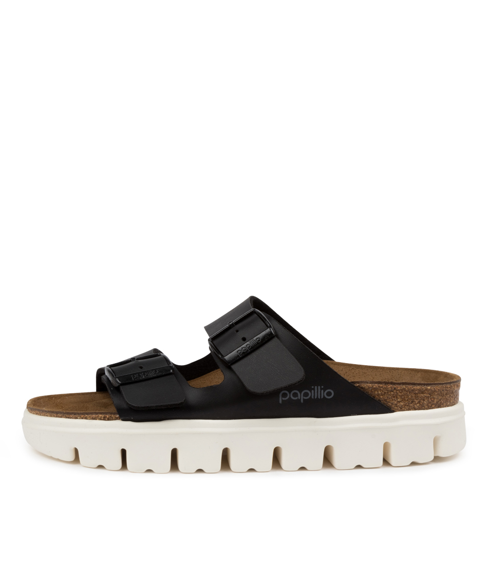 Buy Papillio By Birkenstock Arizona Chunky Pb Black Flat Sandals online with free shipping