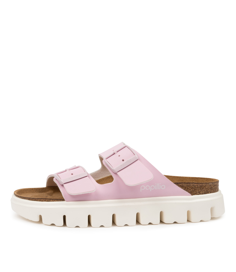 Buy Papillio By Birkenstock Arizona Chunky Pb Rose Flat Sandals online with free shipping
