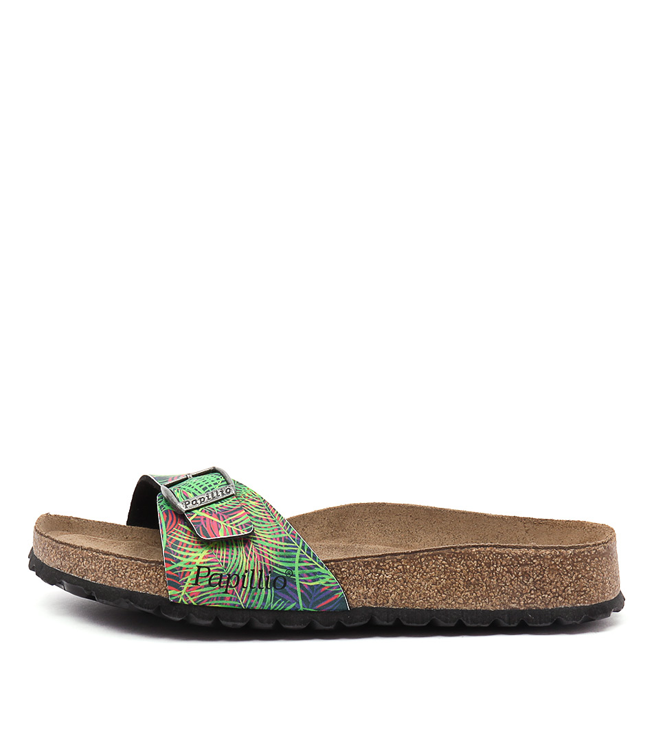 Papillio By Birkenstock Madrid Pb Tropical Leaf Sandals
