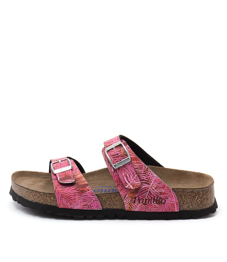 Papillio By Birkenstock Sydney Pb Tropical Pink Casual Flat Sandals