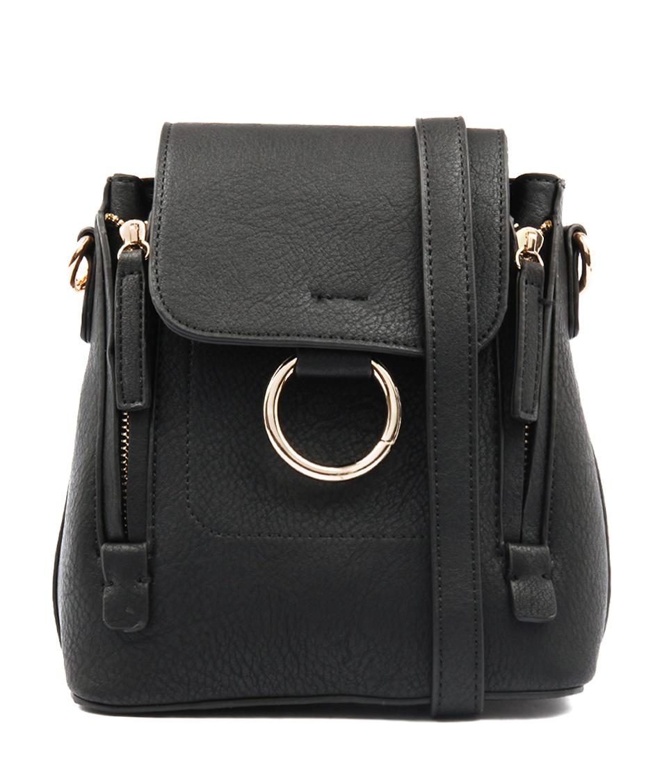 Peta & Jain Kiki Black Cross Body Bag