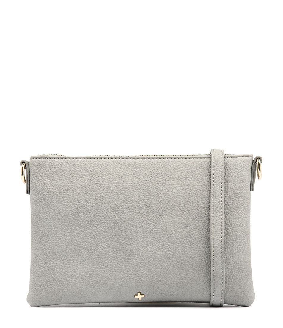 Peta & Jain Kourtney Grey Cross Body Bags