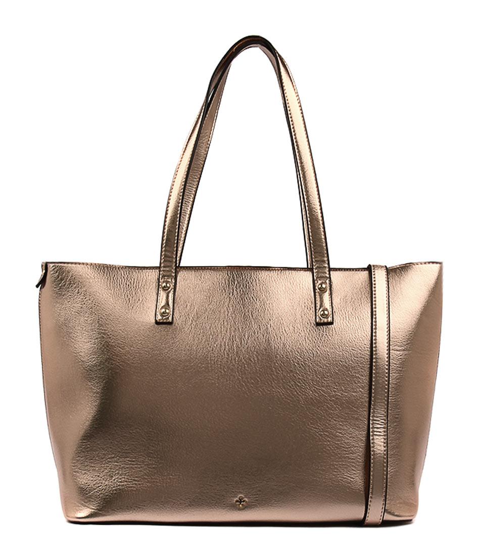 Peta & Jain Goldie Pj Rose Gold Tote Bags